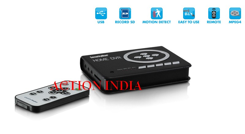 Spy Home Dvr For Hidden Camera In Rajouri