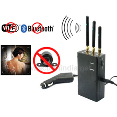 Spy 2.4 Mhz Wireless Camera Jammer In Rajouri