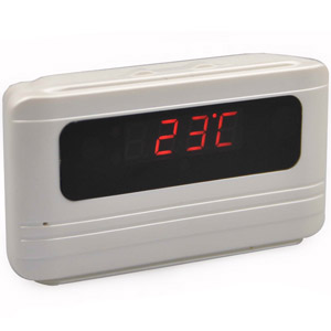 Spy Alarm Table Clock Camera In Karad