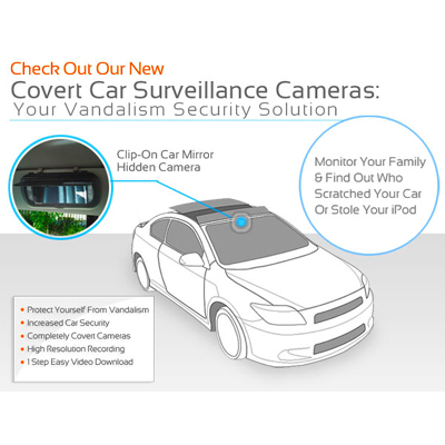 Normal Looking Mirror For In Car Video Surveillance Protect Your Things In Delhi