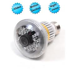 SPY CCTV BULB CAMERA In Sihor