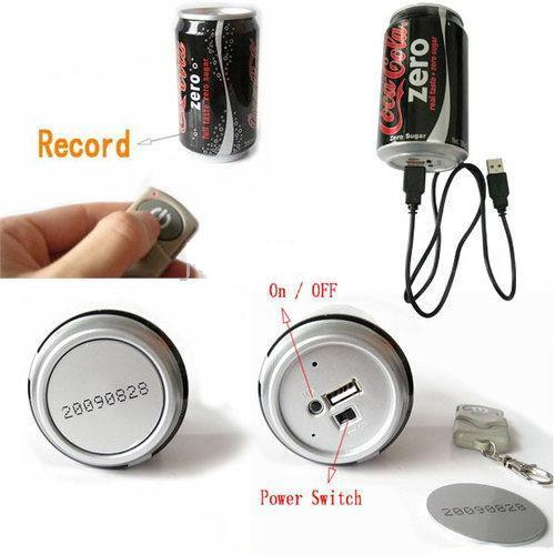 Spy Coca-Cola Can Camera In Rajouri