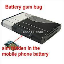 Spy Hidden Mobile Battery Gsm Bug In Delhi