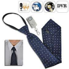 Spy Neck Tie Camera In Delhi