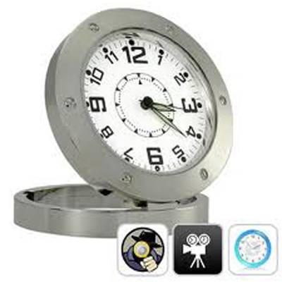 Spy Small Table Clock Camera In Delhi