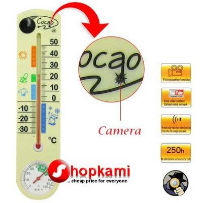 Spy Thermometer Hidden Camera In Sihor