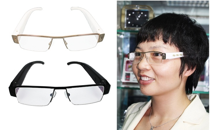 SPY ULTRA THIN NEW MODEL GLASSES CAMERA In Rajam