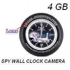 Spy Wall Clock With Remote Control In Delhi