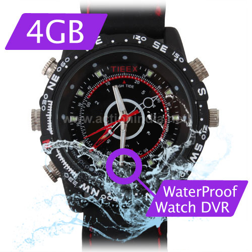 Spy Waterproof Watch Camera In Siwan