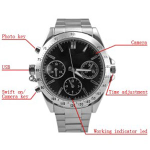 Spy Wrist Watch Camera In Siwan