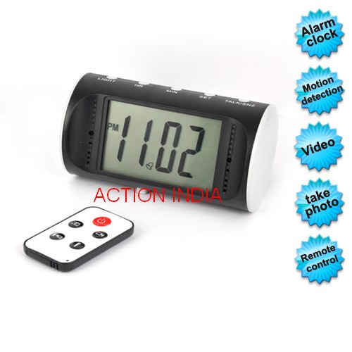 Spy Digital Table Clock Camera In Karad