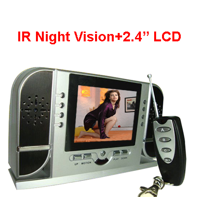 Spy Night Vision Table Clock Camera In Sihor