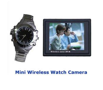 Spy Wireless Watch Camera In Delhi
