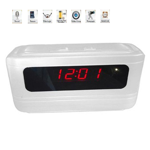 Spy Alarm Digital Table Clock Camera In Delhi