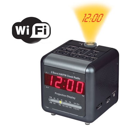 Spy Projection Clock Camera In Karad