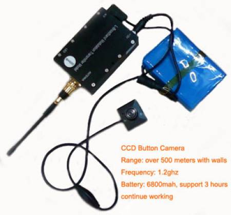 Spy Wireless Button Camera In Delhi
