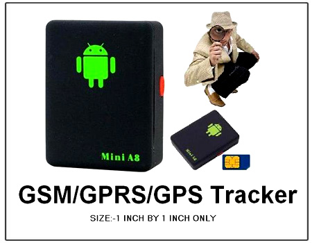 Spying World Smallest GPS Tracker