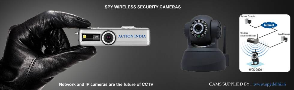 Spy Camera Banner In Srinagar