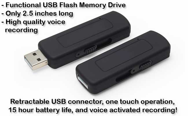 Voice Activated USB Voice Recorder