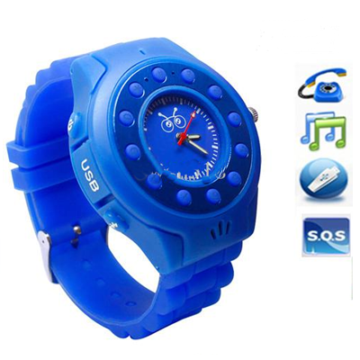 MOBILE WATCH PHONE FOR KIDS WITH GPS TRACKER