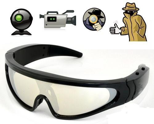 SPY 720P HD DIGITAL VIDEO GLASSES HIDDEN CAMERA EYEWEAR DVR CAMCORDER