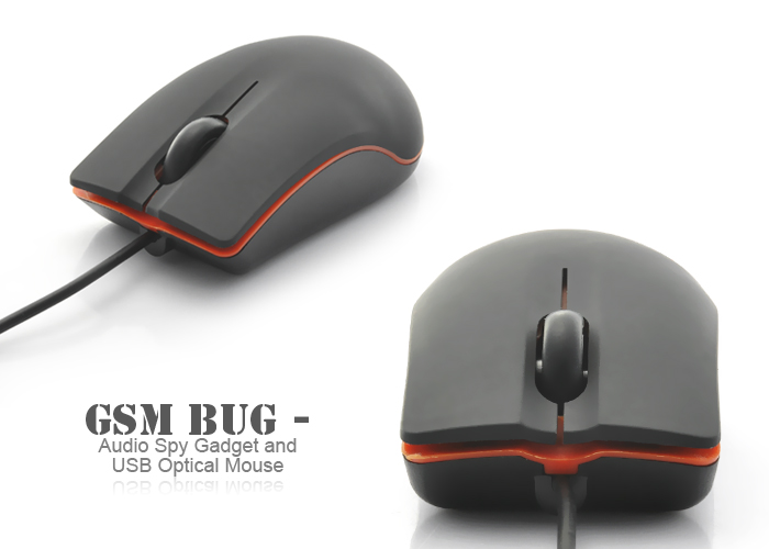 Spy GSM Based Computer Optical Mouse Bug