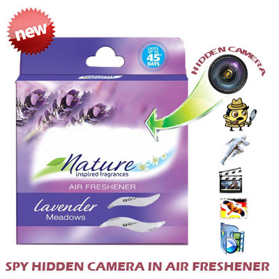 Spy Invisible Camera In Room Freshener In Guna India