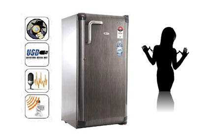 Spy Camera In Refrigerator