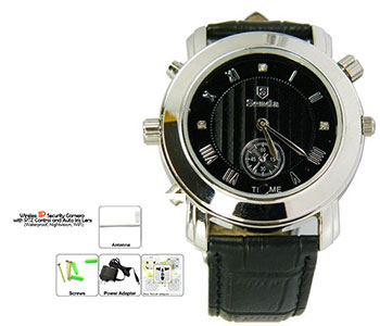 Spy Camera In Ladies Watch